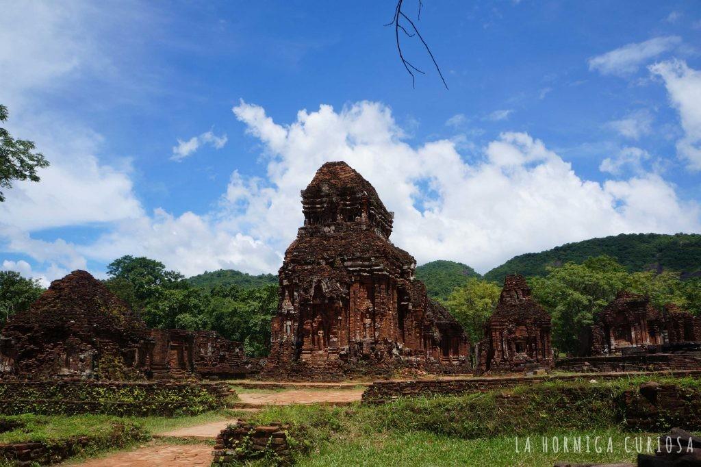 Ruinas My Son, viaje Vietnam