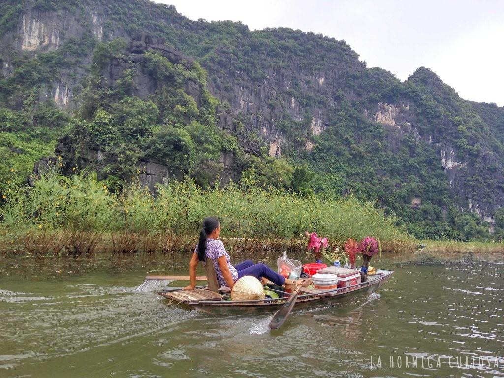 Tam Coc, viaje Vietnam