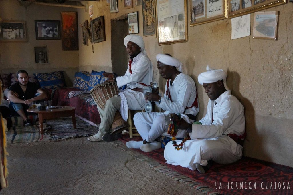 Tribu negra desierto del Sáhara, Marruecos