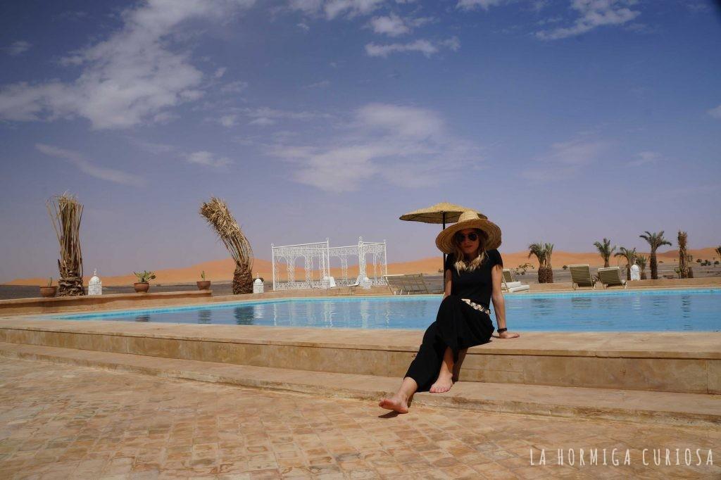 Riad Madú desierto del Sáhara, Marruecos