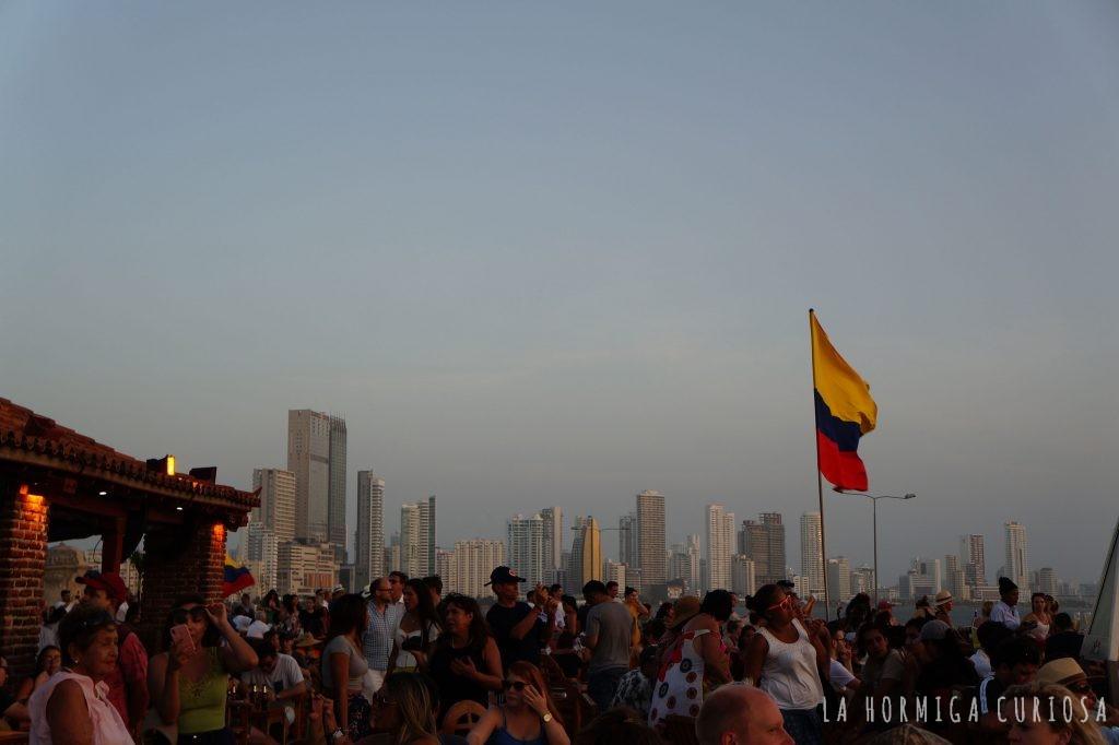 atardecer Cartagena de Indias