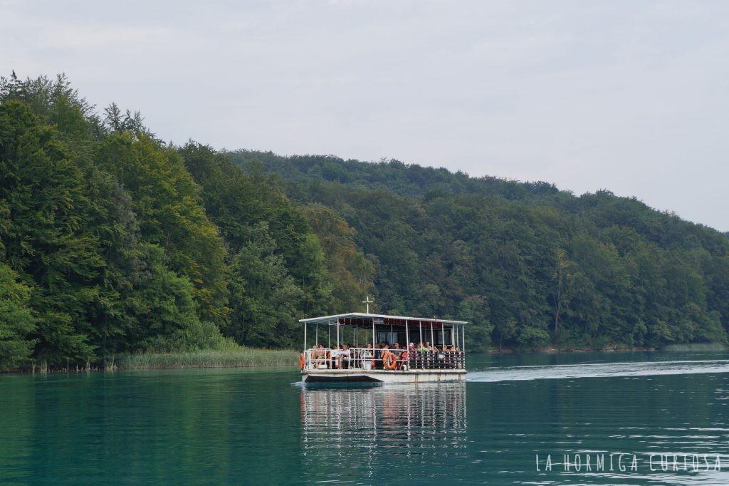 barco lagos plitvice